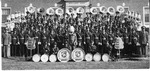 Band Group Picture by North Carolina Agricultural and Technical State University