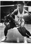 Basketball Player #14 in Action by North Carolina Agricultural and Technical State University