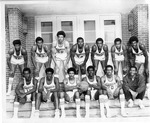 Basketball Team Photograph by North Carolina Agricultural and Technical State University