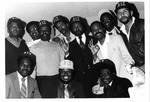 Eleven Men in A&T Hats by North Carolina Agricultural and Technical State University