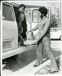 Two Men at Van by North Carolina Agricultural and Technical State University