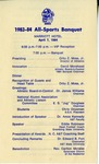 83-84 All Sports Banquet Itinerary by North Carolina Agricultural and Technical State University