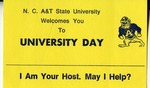 University Day Card by North Carolina Agricultural and Technical State University