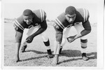 2 Football Players #71,#78 by North Carolina Agricultural and Technical State University