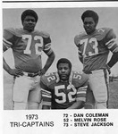 Tri-Captains 1973 by North Carolina Agricultural and Technical State University