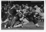 Football Player #11 Football Game by North Carolina Agricultural and Technical State University