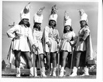 Five Majorettes in Capes by North Carolina Agricultural and Technical State University