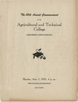 The 55th Annual Commencement of the Agricultural and Technical College by North Carolina Agricultural and Technical State University