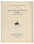 The 58th Annual Commencement of the Agricultural and Technical College by North Carolina Agricultural and Technical State University