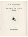 The 65th Annual Commencement of the Agricultural and Technical College