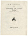 The 69th Annual Commencement of the Agricultural and Technical College by North Carolina Agricultural and Technical State University
