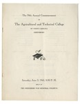 The 70th Annual Commencement of the Agricultural and Technical College by North Carolina Agricultural and Technical State University