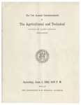 The 71st Annual Commencement of the Agricultural and Technical College of North Carolina by North Carolina Agricultural and Technical State University