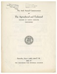 The 72nd Annual Commencement of the Agricultural and Technical College of North Carolina by North Carolina Agricultural and Technical State University