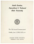 The 77th Annual Commencement of North Carolina Agricultural and Technical State University by North Carolina Agricultural and Technical State University