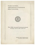 The 80th Annual Commencement of North Carolina Agricultural and Technical State University by North Carolina Agricultural and Technical State University