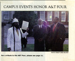 Campus Events Honor A&T Four by Mike McCray