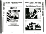 David Richmond, Theatre Play by English Department of North Carolina Agricultural and Technical State University