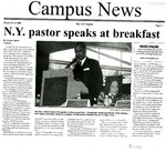 N.Y. Pastor Speaks At Breakfast
