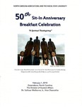The 50th Sit-In Movement Anniversary Breakfast Celebration