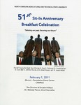 The 51st Sit-In Movement Anniversary Celebration