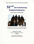 The 52nd Sit-In Movement Anniversary Celebration