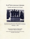 The 45th Sit-In Movement Anniversary Celebration